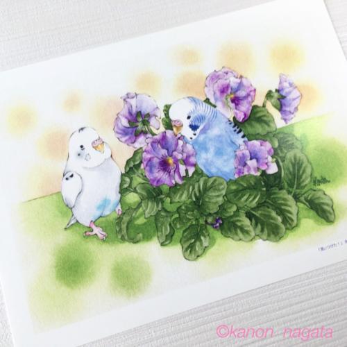 A4アートポスター(7種類)(click!)